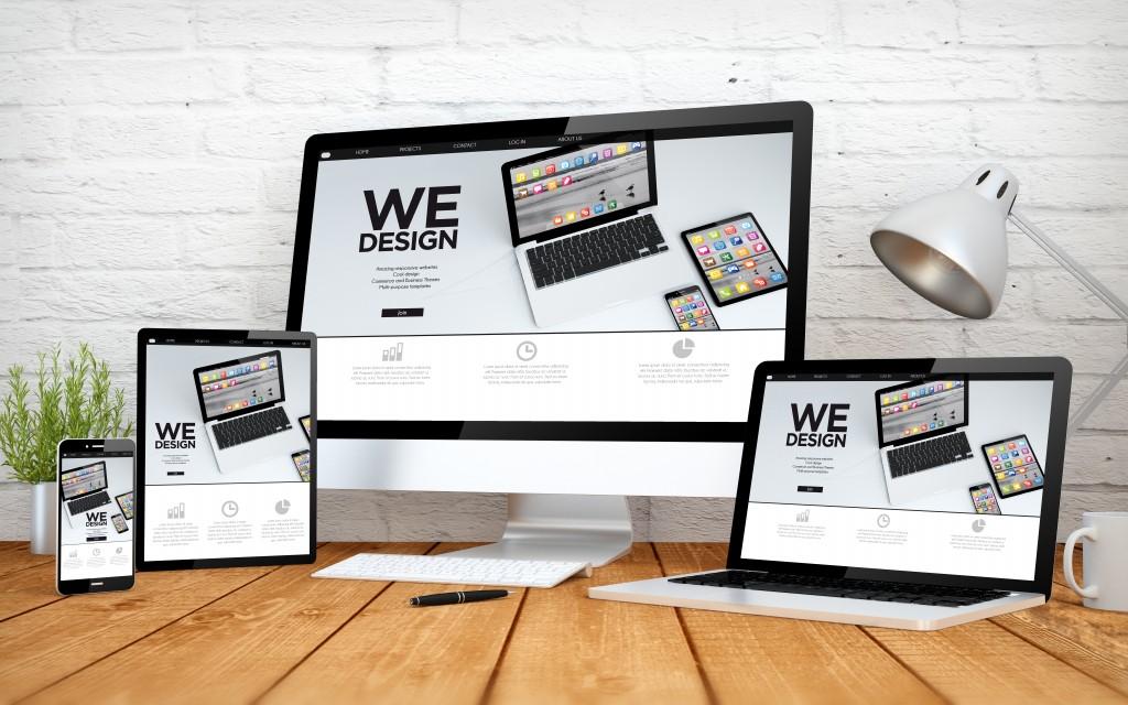 Websites on different platforms
