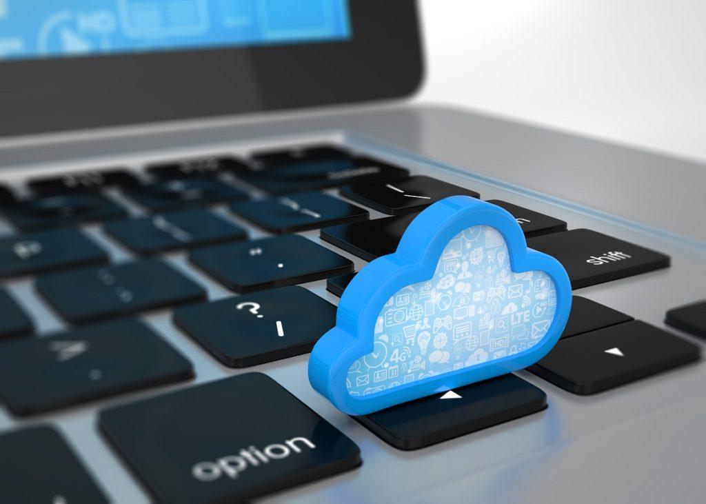 Cloud on the keyboard